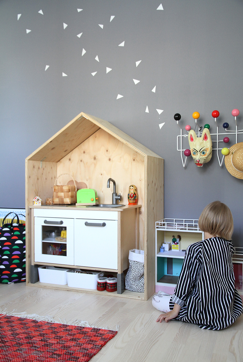 hunajaista lastenhuone kids room interior sisustus