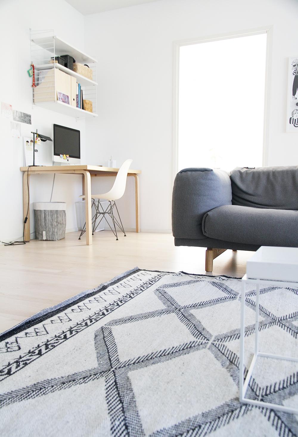hunajaista olohuone tyonurkkaus livingroom home koti