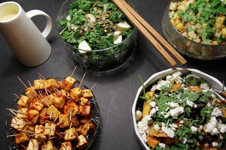 hunajaista arla salaatit soppahanna