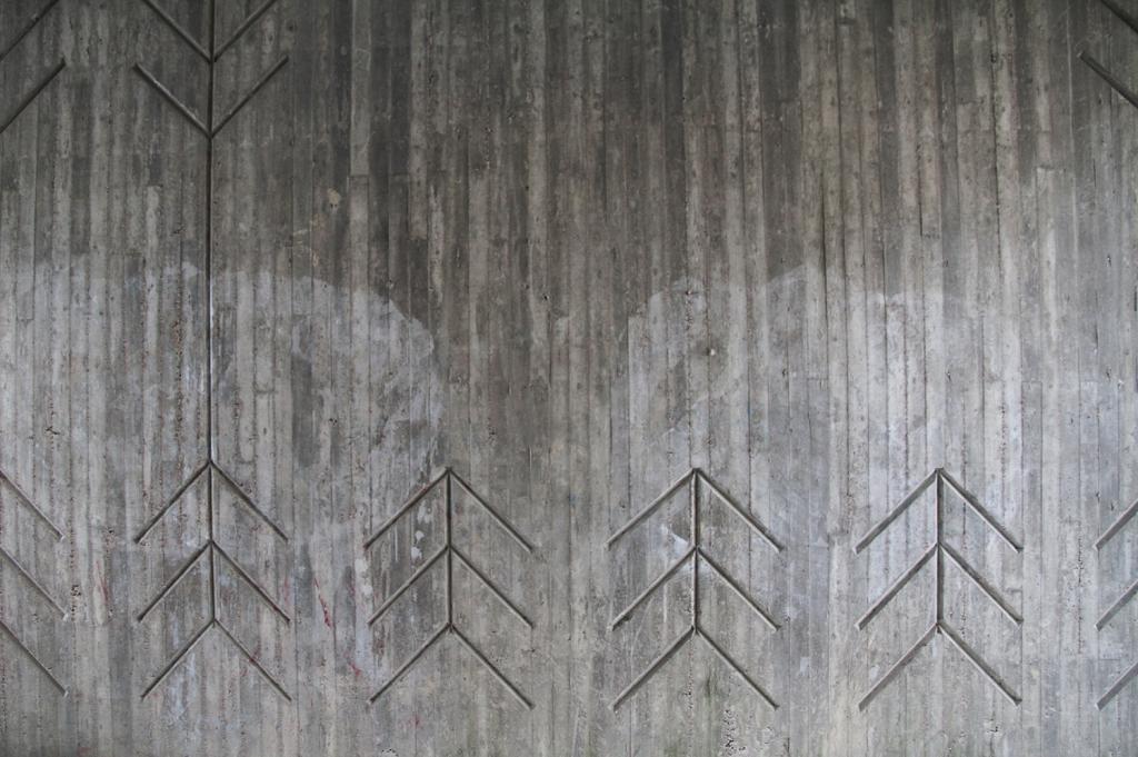 hunajaista arrows nuolet betoni