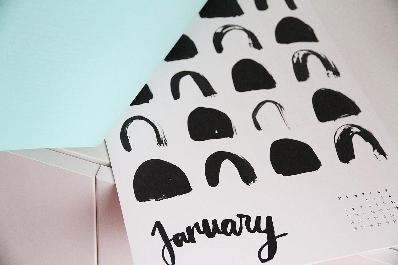 hunajaista kalenteri 2015 tammikuu