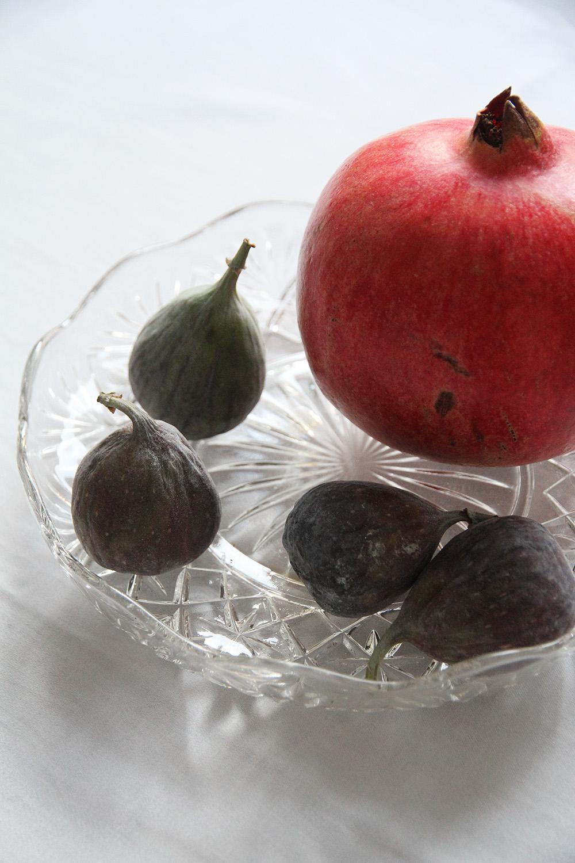 hunajaista viikunat granaattiomena