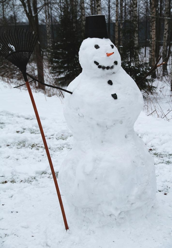 hunajaista blogi lumiukko lifestyle
