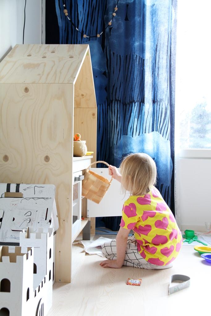 marimekko jussaro verho decoration sisustusblogi hunajaista siiri leikkii luona in luona saunat