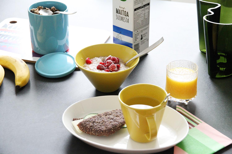 hunajaista koko astiat arabia aamukattaus