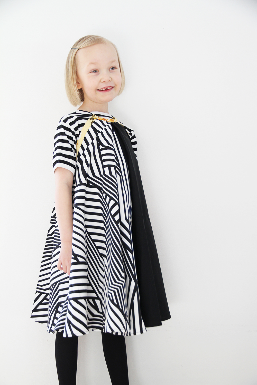 hunajaista siiri elede mekko lastenvaatteet
