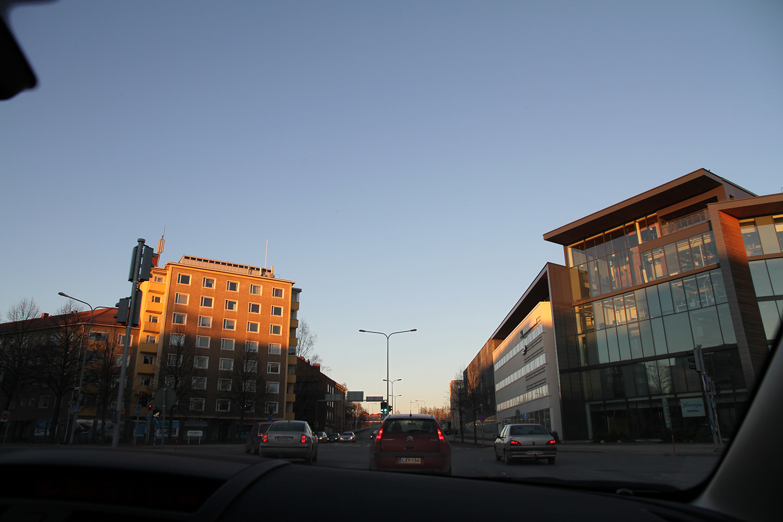 hunajaista kaupunkinakyma hameenlinna