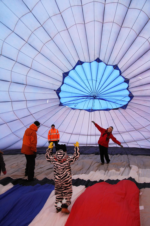 hunajaista kuumailmapallon sisalla sibelius air aulanko