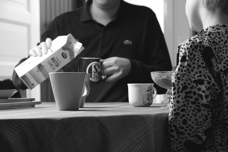 hunajaista mammulassa kahvit