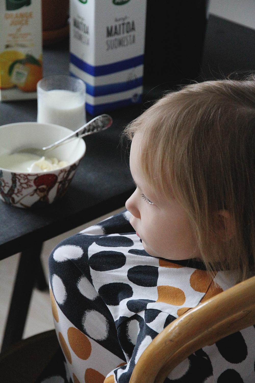 siiri aamupalalla hunajaista