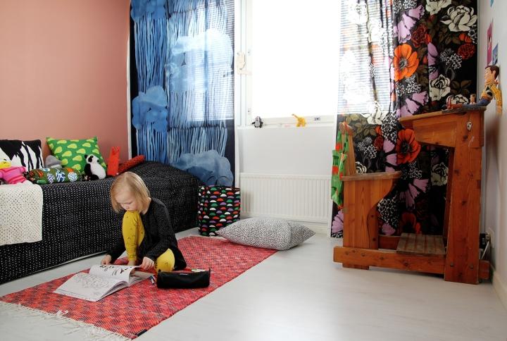 hunajaista siirin huone lastenhuone marimekko sisustus